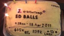 Ed Balls cake