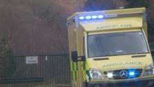 Ambulance driver killed in Pwllheli road crash