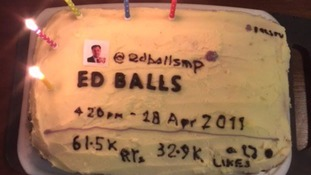 April 28 has been celebrated as Ed Balls Day since the ex-cabinet minister unwittingly tweeted his name in 2011.