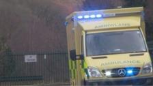 Driver dead after two ambulances crash
