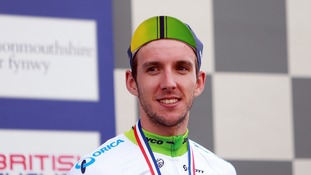 British cyclist Simon Yates