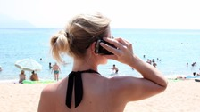 EU mobile roaming charges will be capped as of Saturday