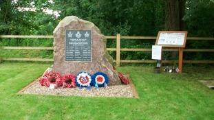 Halam RAF memorial