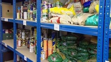 Foodbanks feeding increasing number of children