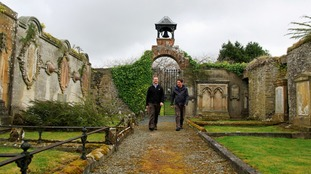 Dr Chris Bowles, Scottish Borders Council archaeologist, and Colin Gilmour, Selkirk Conservation Area Regeneration Scheme Project Manager.