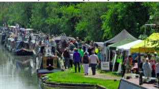 This bank holiday weekend visitors are invited to a three-day canal festival