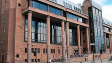 The exterior of Newcastle Crown Court