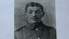 Private Robert Bailey who fought in the Battle of the Somme.