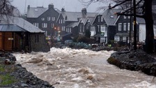 Wall being built to boost Glenridding flood defences