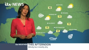 Friday's weather for the west of the region