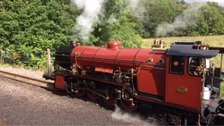 The Ravenglass and Eskdale Railway.