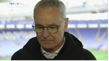 Ranieri reacts to video of fans expressing love for him