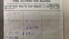 The book was returned 67 years late