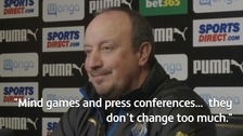 Benitez refuses to rise to Allardyce's mind games