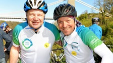 Charity bike riders have sights set on Paris