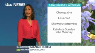 Friday's afternoon weather forecast in the west