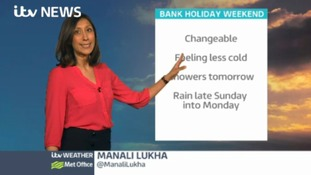Bank Holiday weekend forecast for the east