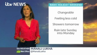 Bank Holiday weekend forecast for the west