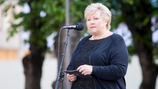 Norway's Prime Minister Erna Solberg pictured in 2015.