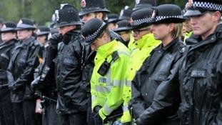 Tributes to fallen policewomen at Hattersley vigil