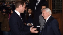 Prince William: David Attenborough is national treasure