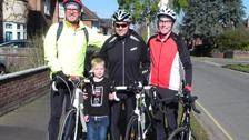 Cycle challenge for Norwich dad after son's heart transplant