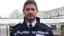 Chief Superintendent Jim Colwell's promotion has caused a stir on Devon and Cornwall Police's Facebook page