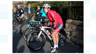 Lizzie Armitstead during stage two of the Tour de Yorkshire.