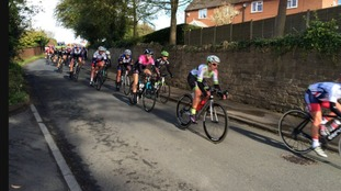 Warm welcome for riders in East Keswick