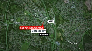 The location of the suspected assault