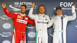 Hamilton Rosberg Sochi