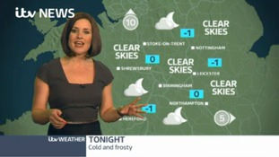 Midlands Weather: Cold and frosty