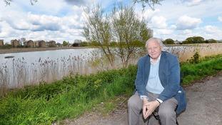 Sir David Attenborough opens Woodberry wetlands in London
