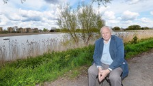 Sir David Attenborough opens new nature reserve in London