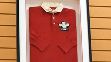 Collectors scrum down for 122-year-old Welsh rugby shirt