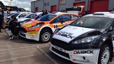 Second place for Cumbrian driver in Pirelli Rally
