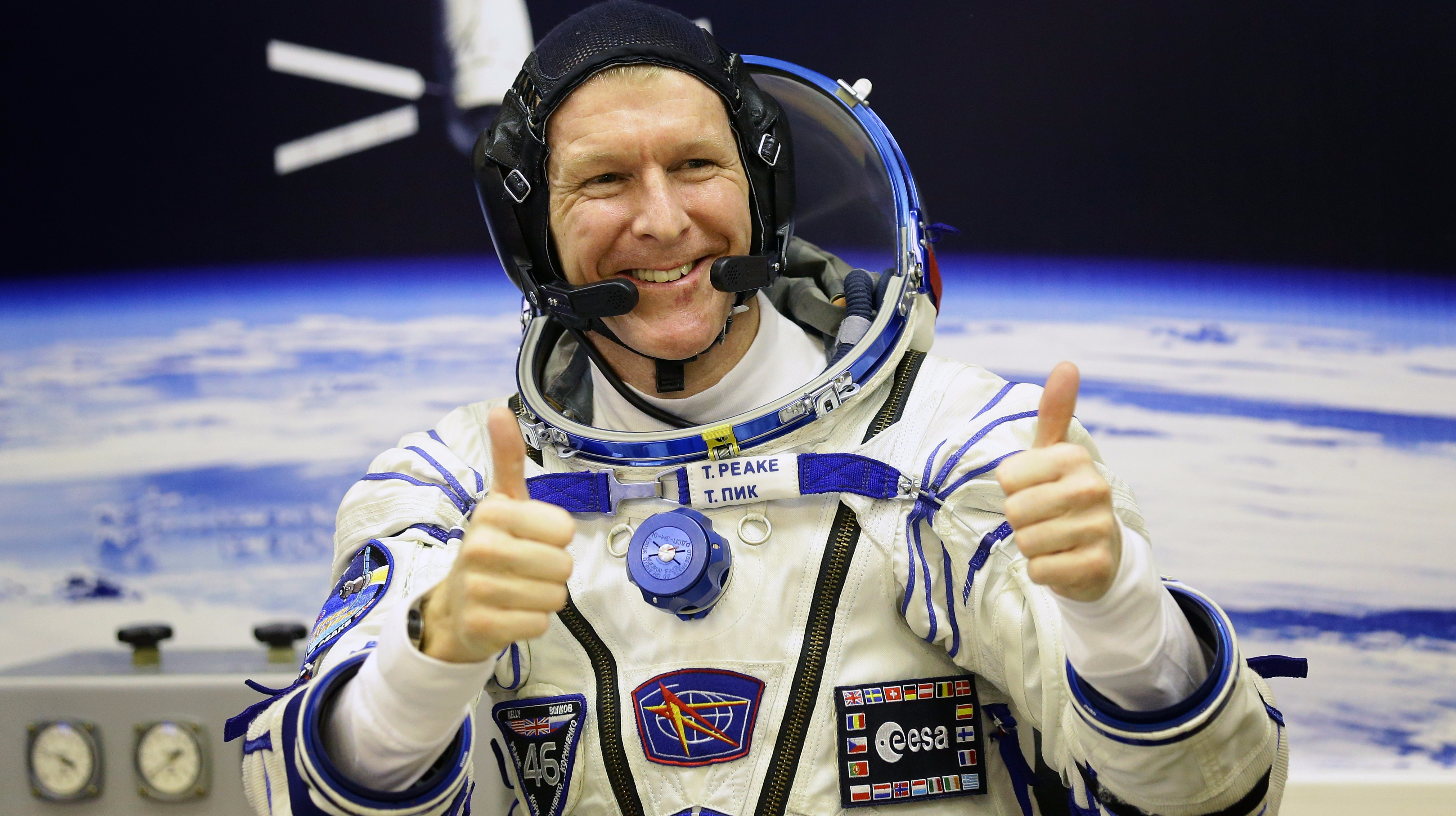 astronaut stayed in space for a year - photo #45