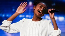 BGT: Tears as teen singer wins Ant & Dec's golden buzzer