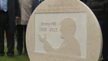 Memorial garden unveiled to celebrate life of Jimmy Hill