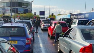 Queues at the Channel Tunnel