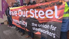 Steelworkers guests of honour at Rotherham United's game