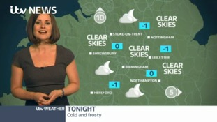 West Midlands Weather: Cold and frosty