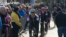Thousands line route for day two of Tour de Yorkshire
