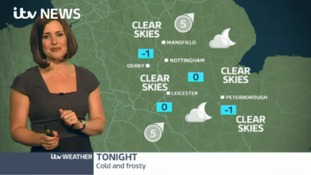 East Midlands Weather: Cold and frosty
