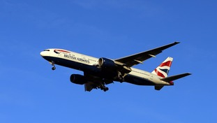 British Airways flight escorted by Hungarian fighter jets