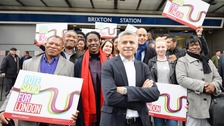 Labour's London mayoral candidate Sadiq Kahn