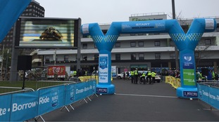 The start point for Stage 3 in Middlesbrough