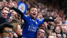 Leicester 'turning blue' with Premier League title fever