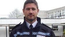 'Arrestingly handsome' Chief Superintendent becomes police pin-up