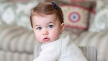 New photos of Princess Charlotte at home in Norfolk